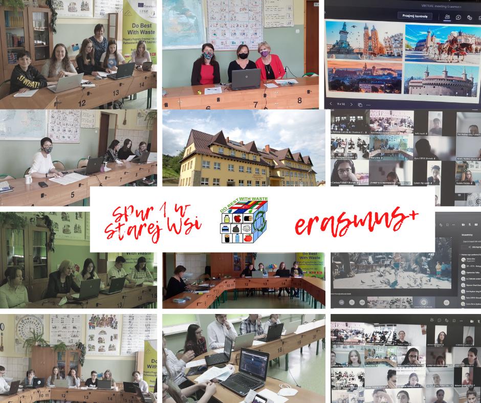 Erasmus+ Do Best With Waste - w Szkole Podstawowej n1 w Starej Wsi - zdjęcie główne