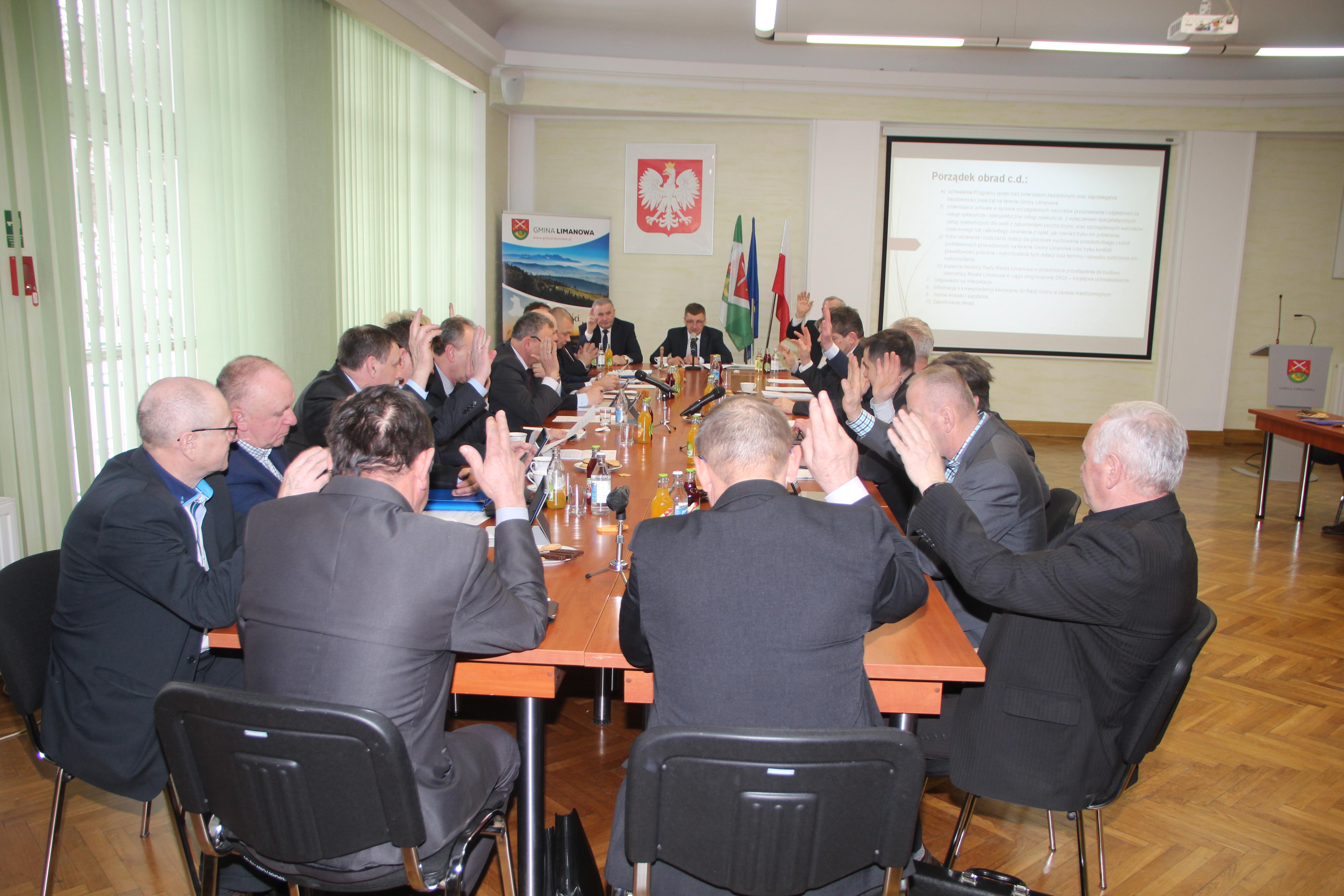 Informacja o XXVI sesji Rady Gminy Limanowa - zdjęcie główne