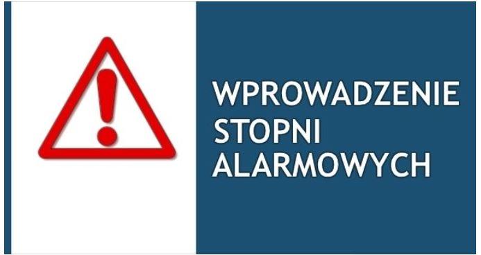 Stopnie alarmowe BRAVO i ALFA-CRP w Małopolsce - zdjęcie główne