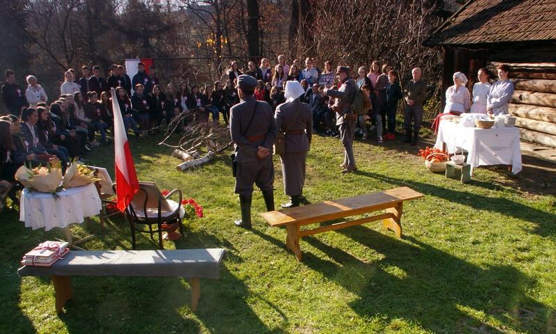 Inauguracja obchodów Stulecia Niepodległości w Pisarzowej - zdjęcie główne