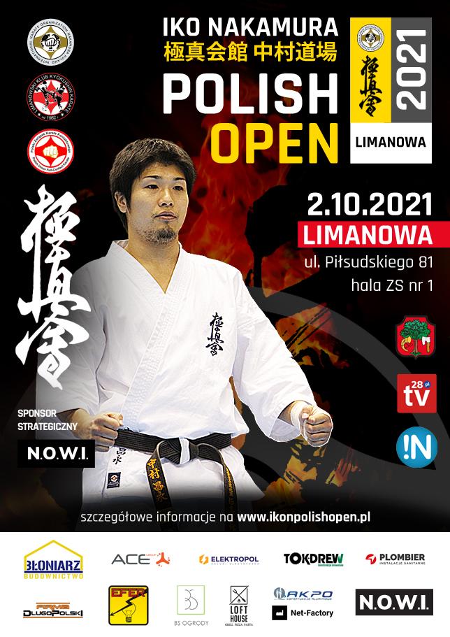 2 października br. I Otwarty Puchar Polski Karate Kyokushin IKO Nakamura Polish Open 2021 - Limanowa - zdjęcie główne
