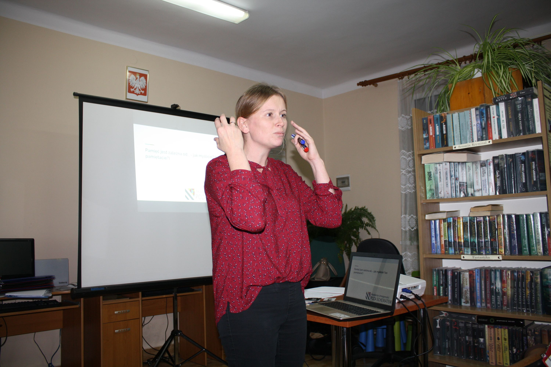 Jak wspomóc pamięć? - wykład w bibliotece gminnej w Rupniowie - zdjęcie główne