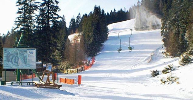 Wyciąg narciarski w Koninkach