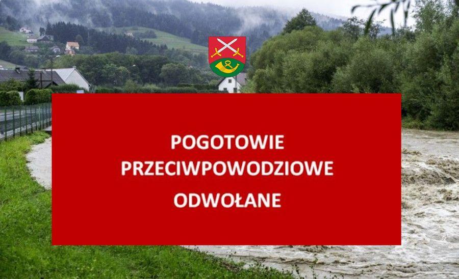 Pogotowie przeciwpowodziowe na terenie Gminy Limanowa - odwołane - zdjęcie główne