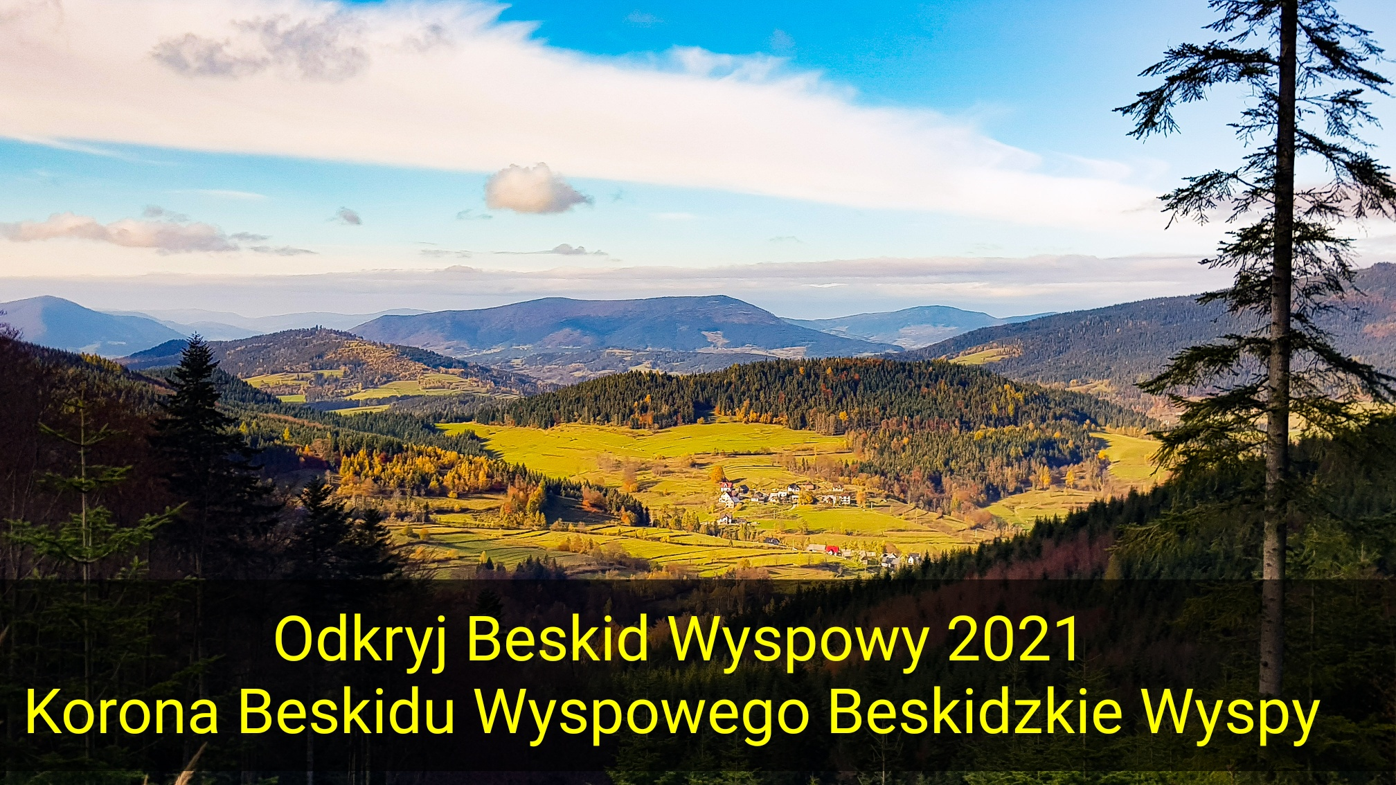 """""""Odkryj Beskid Wyspowy 2021"""" indywidualnie - zdjęcie główne"""