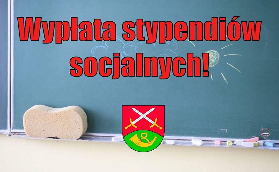 Wypłata stypendiów socjalnych dla uczniów - zdjęcie główne