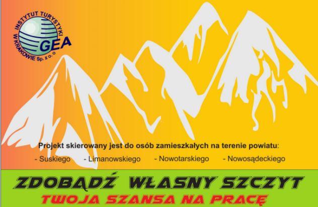 """Projekt """"Zdobądź własny szczyt- nowe podejście do aktywizacji społeczno-zawodowej"""" - zdjęcie główne"""