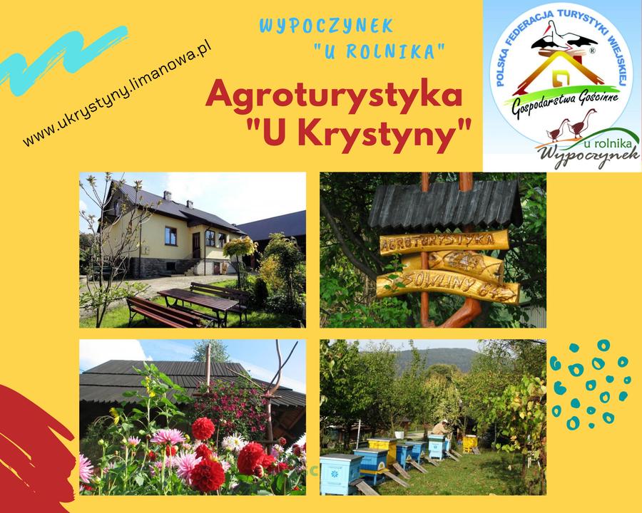 """Agroturystyka """"U Krystyny"""" z Sowlin oznaczona słoneczkiem w kat. Wypoczynek u rolnika - zdjęcie główne"""