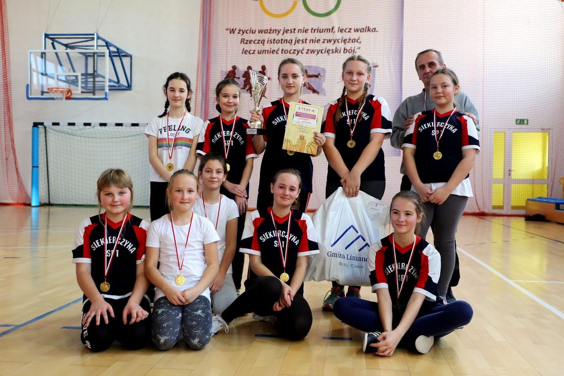 Mistrzostwa Gminy w Piłce Koszykowej Dzieci - zdjęcie główne