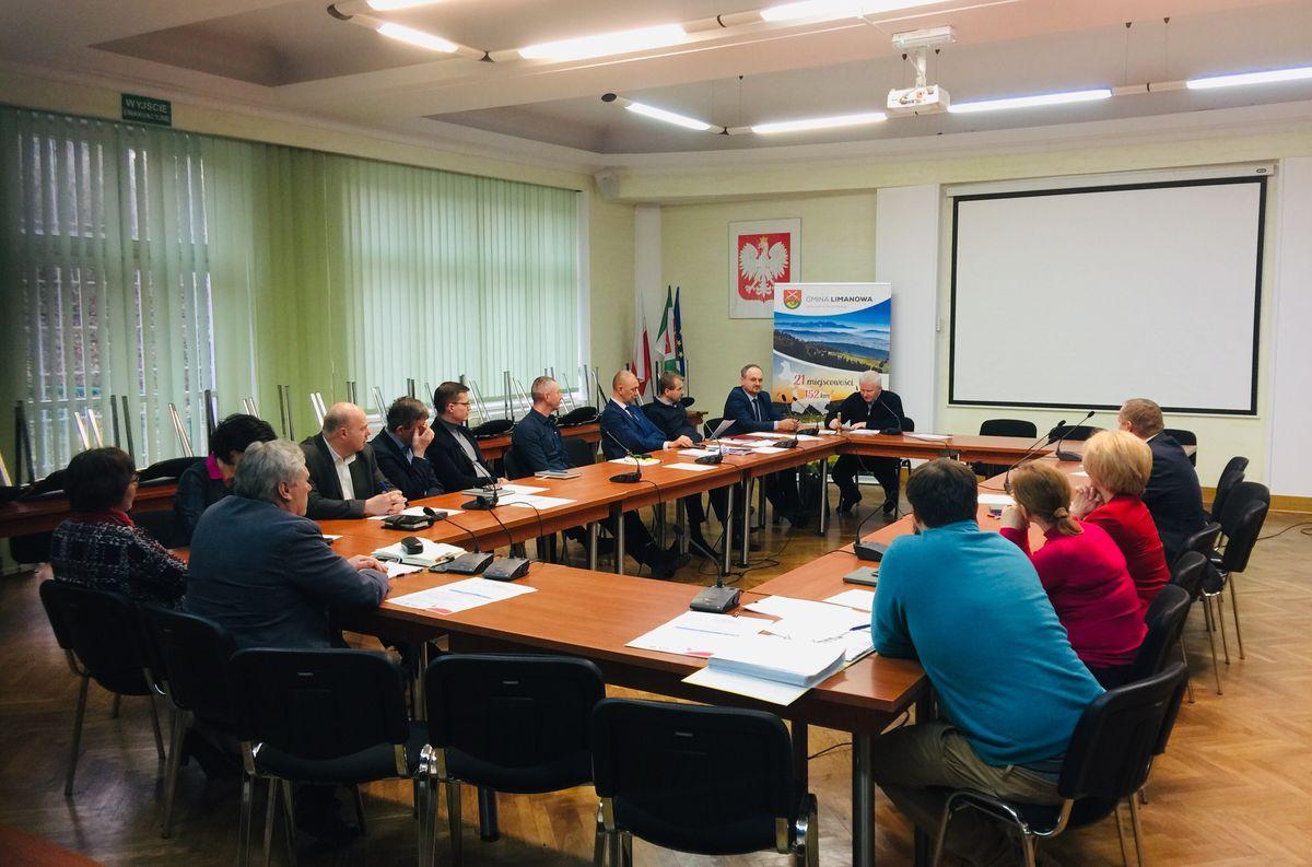 Posiedzenie  Gminnego Zespołu Zarządzania Kryzysowego - zdjęcie główne