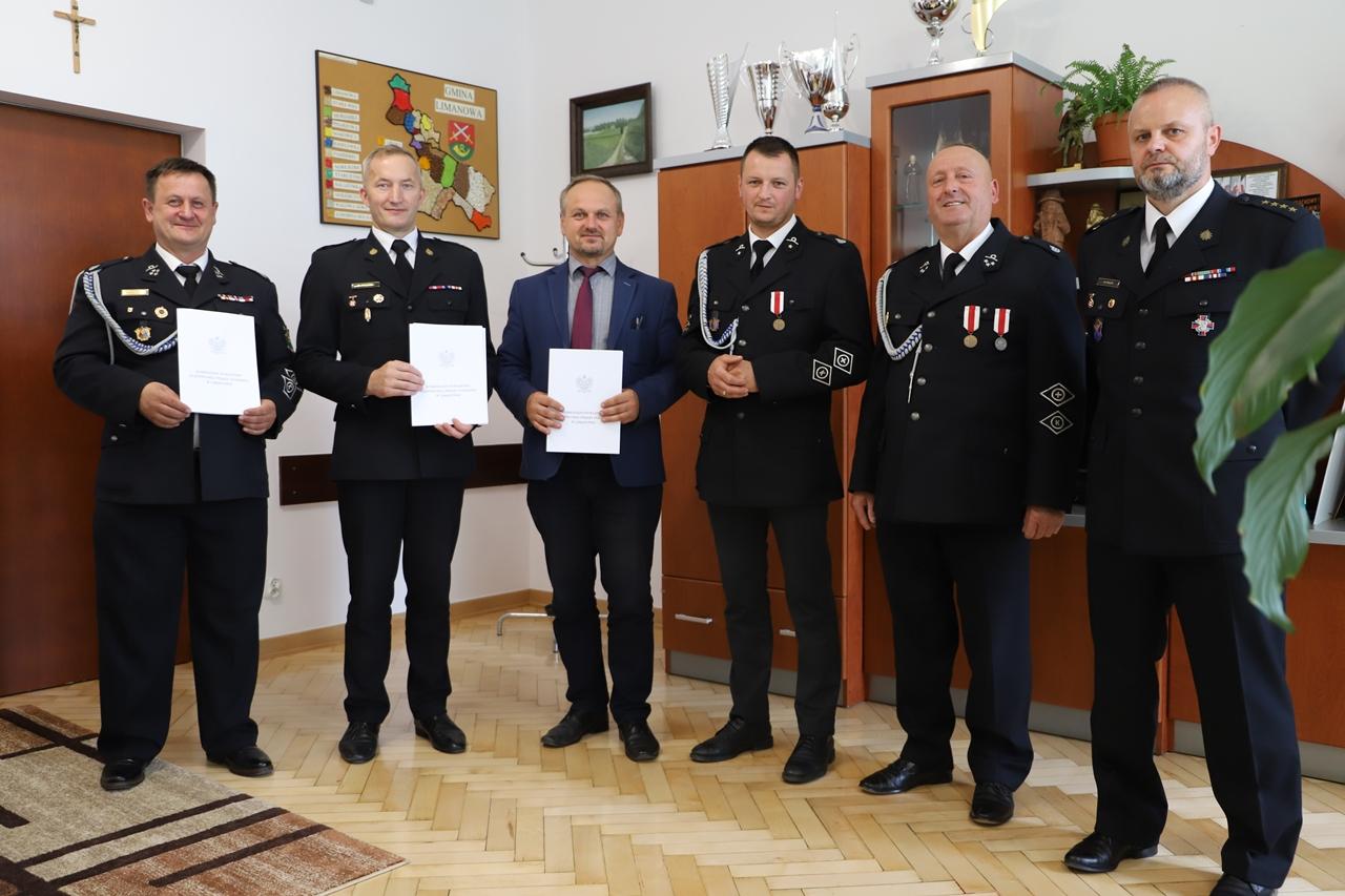 Jednostka OSP w Wysokiem dołączyła do Krajowego Systemu Ratowniczo – Gaśniczego - zdjęcie główne