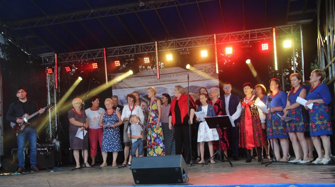 """Festiwal """"Beskidzkie Rytmy i Smaki"""" w Siekierczynie - zdjęcie główne"""