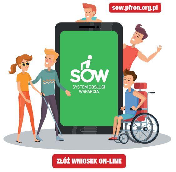 Załóż konto w systemie SOW i wnioskuj o dofinansowanie z PFRON - zdjęcie główne