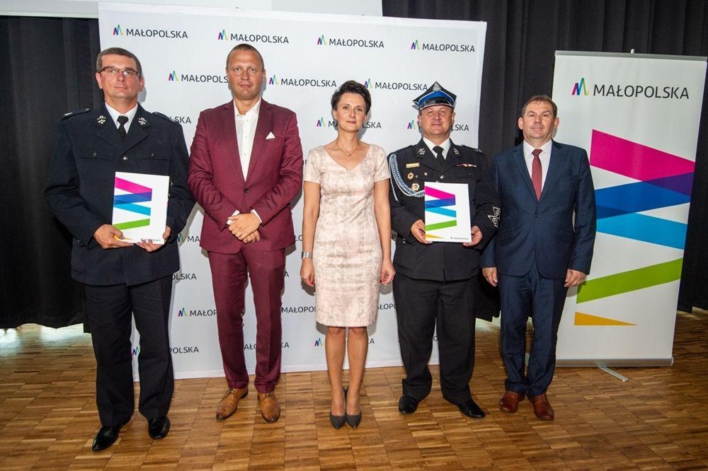 Jednostki OSP  z dofinasowaniem z  Województwa Małopolskiego - zdjęcie główne