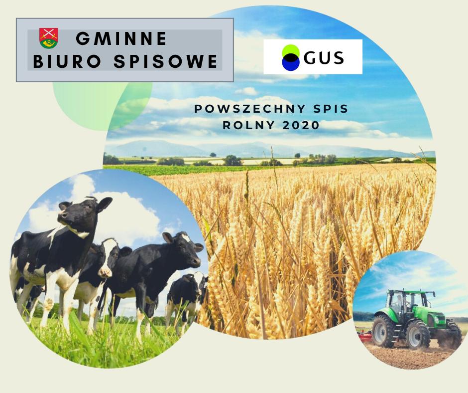 Nabór na rachmistrzów terenowych - Powszechny Spis Rolny 2020 - zdjęcie główne