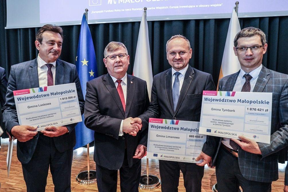 Promesa na rozbudowę kanalizacji sanitarnej w Siekierczynie - zdjęcie główne