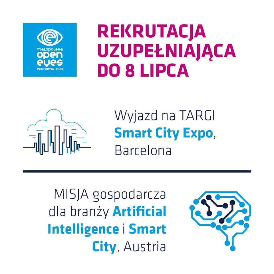 Program bezpłatnego wsparcia dla firm z Małopolski  - Małopolska Open Eyes Economy HUB - zdjęcie główne