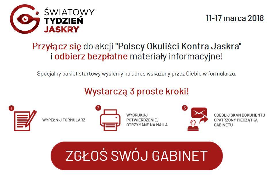 """Trwają zgłoszenia do akcji """"Polscy okuliści kontra jaskra"""" - zdjęcie główne"""