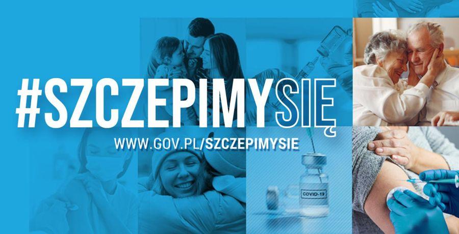 #Szczepimysię - kampania promująca szczepienia przeciwko COVID-19 - zdjęcie główne