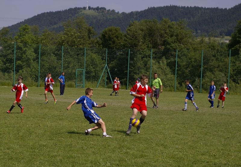 Stadion sportowy w Mordarce