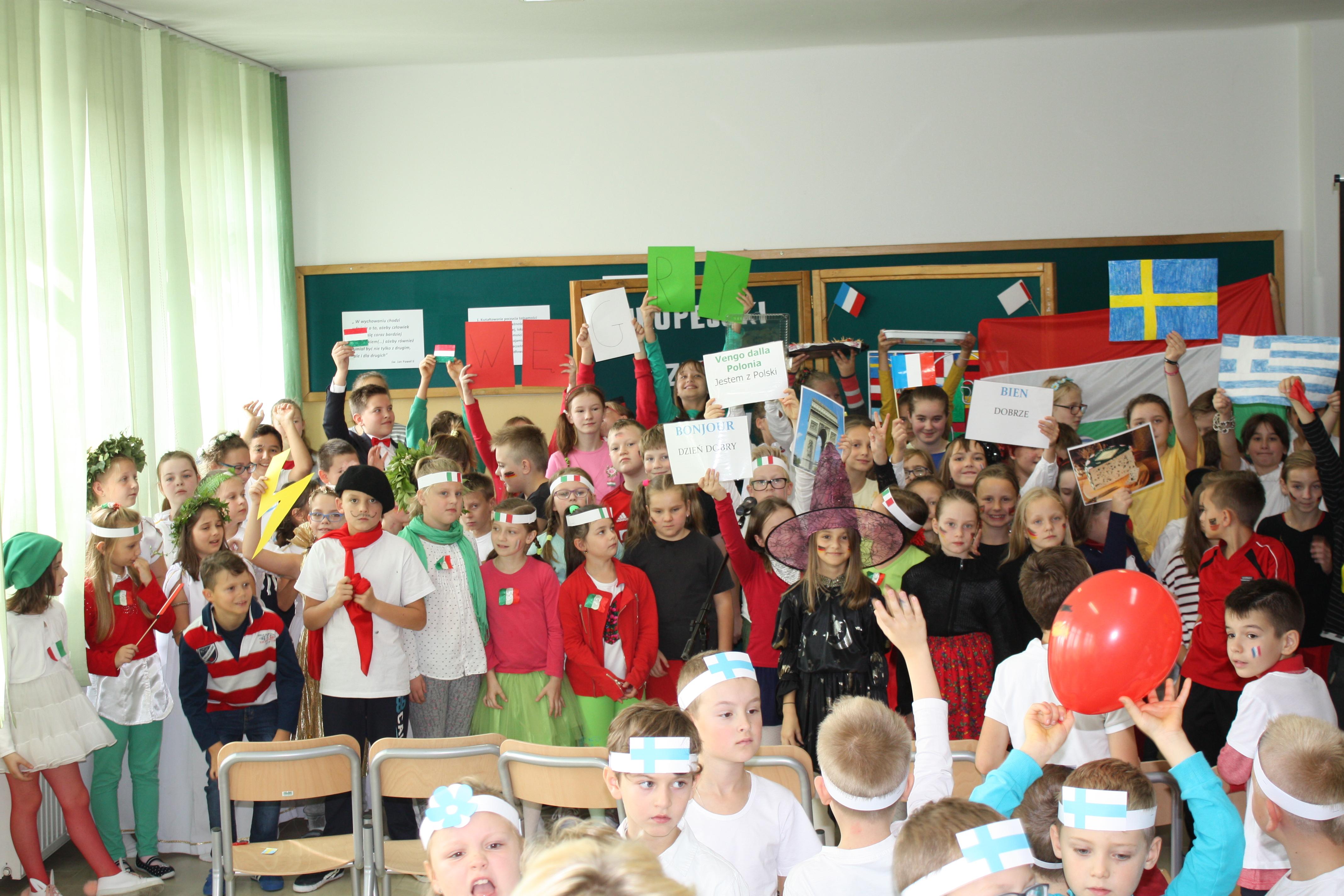 Europejski Dzień Języków Obcych w Szkole Podstawowej nr 1 w Męcinie - zdjęcie główne