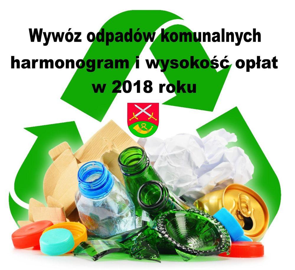 Wywóz odpadów komunalnych w 2018 r. - terminy i wysokość opłat - zdjęcie główne