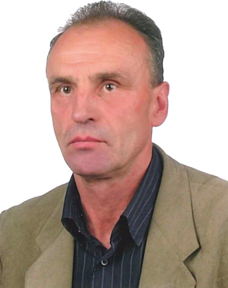 Sołtys wsi Pisarzowa Andrzej Malinowski