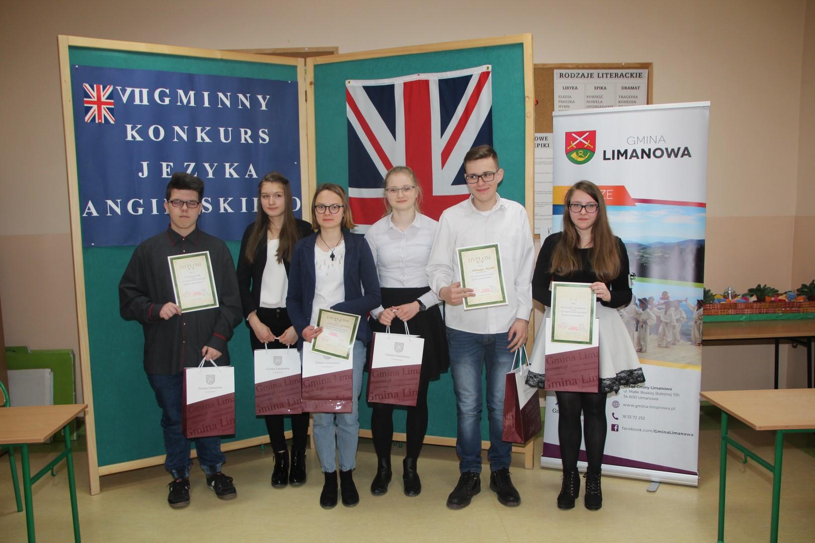 VII Gminny Konkurs Języka Angielskiego w ZS w Mordarce - zdjęcie główne