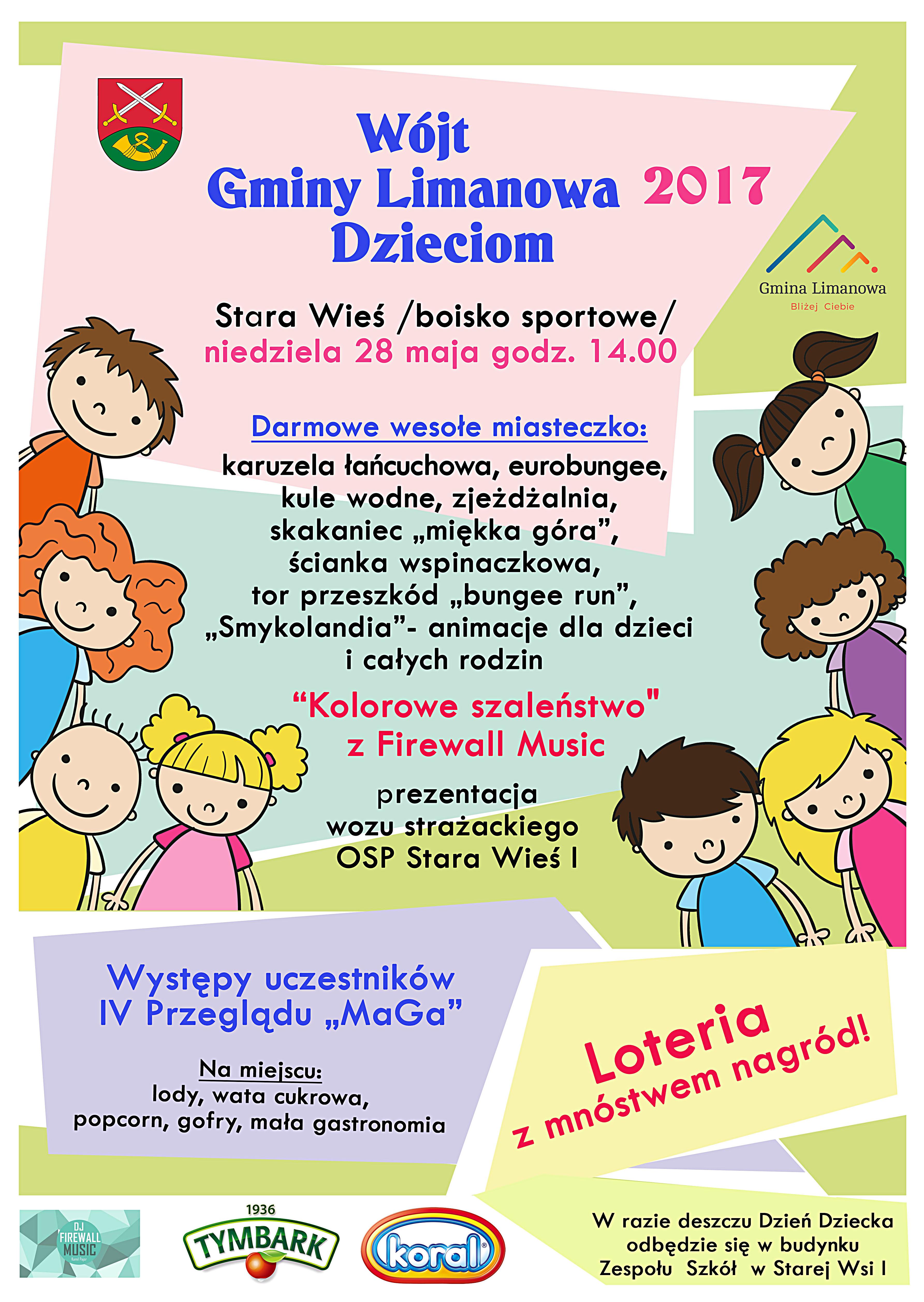 Dzień Dziecka z Gminą Limanowa już w najbliższą niedzielę! - zdjęcie główne