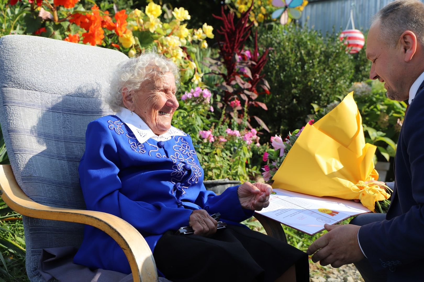 100-tne urodziny Marii Myszki z Nowego Rybia - zdjęcie główne