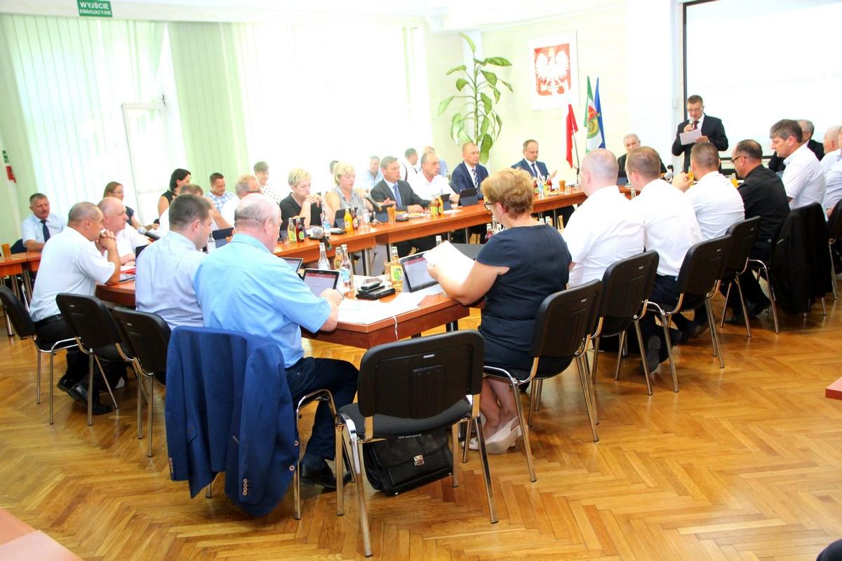 Informacja o VII  Sesji Rady Gminy Limanowa - zdjęcie główne