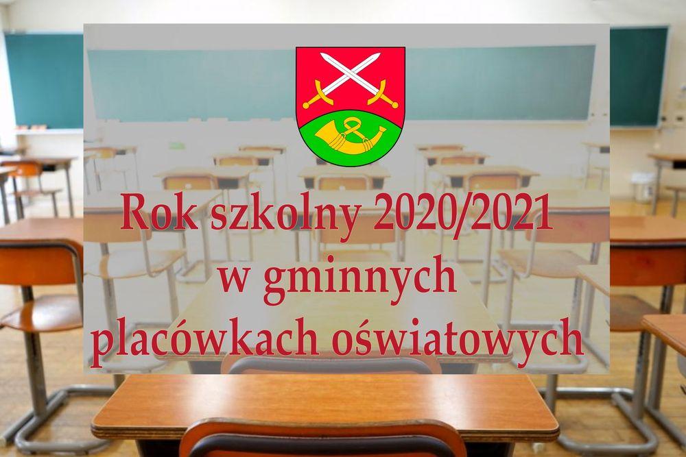 Nowy rok szkolny 2020/2021 w gminnych placówkach oświatowych - zdjęcie główne