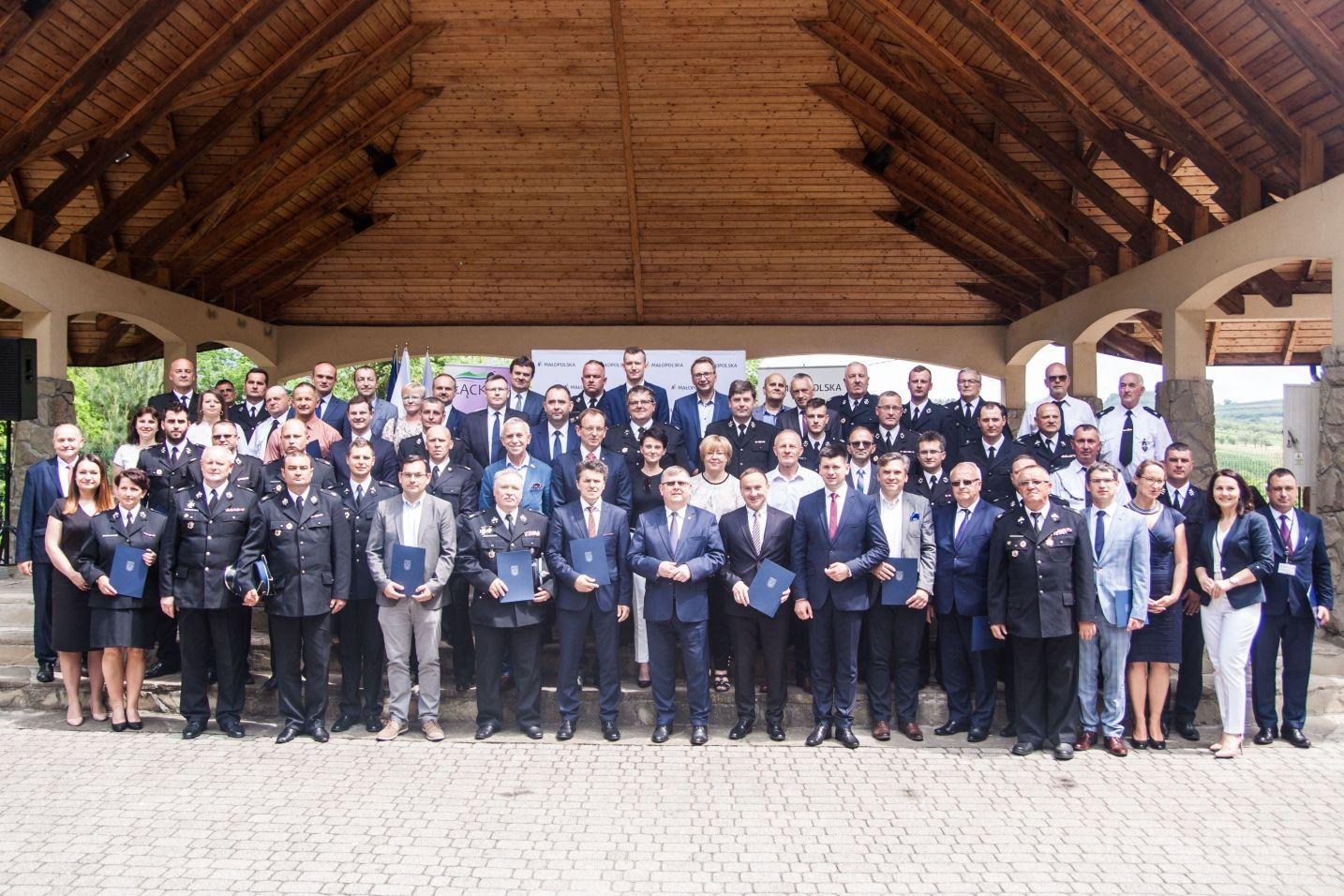 Promesa na remont remizy  OSP  w Kisielówce - zdjęcie główne