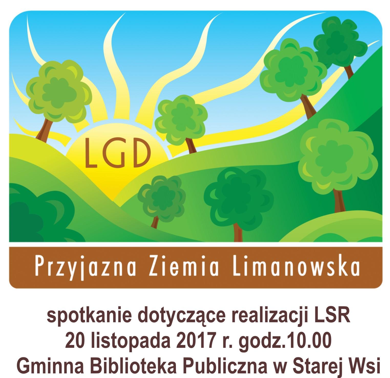 Spotkanie informacyjne dotyczące LSR - zdjęcie główne
