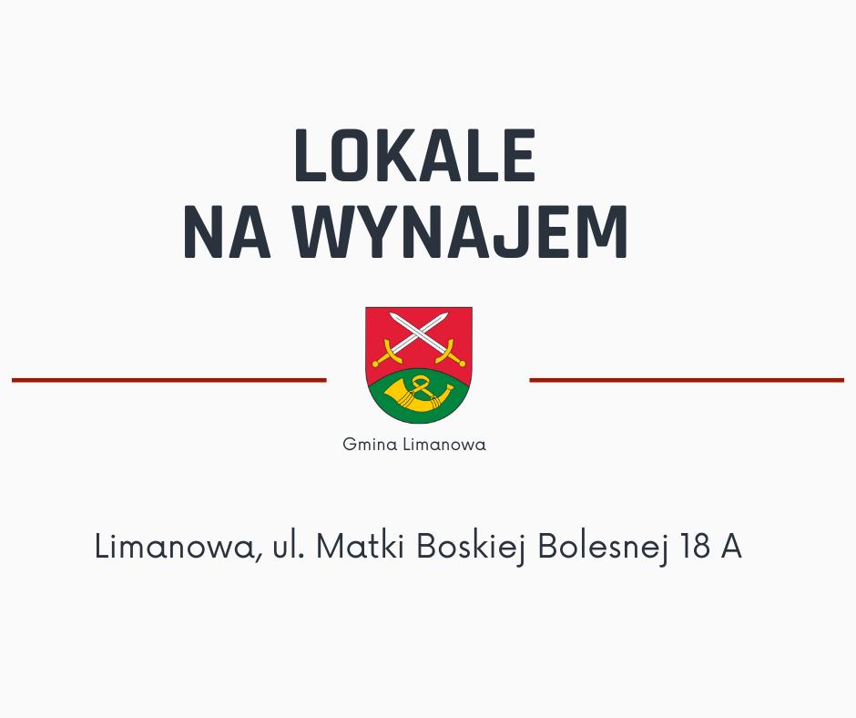Gmina Limanowa oferuje lokale na wynajem - zdjęcie główne