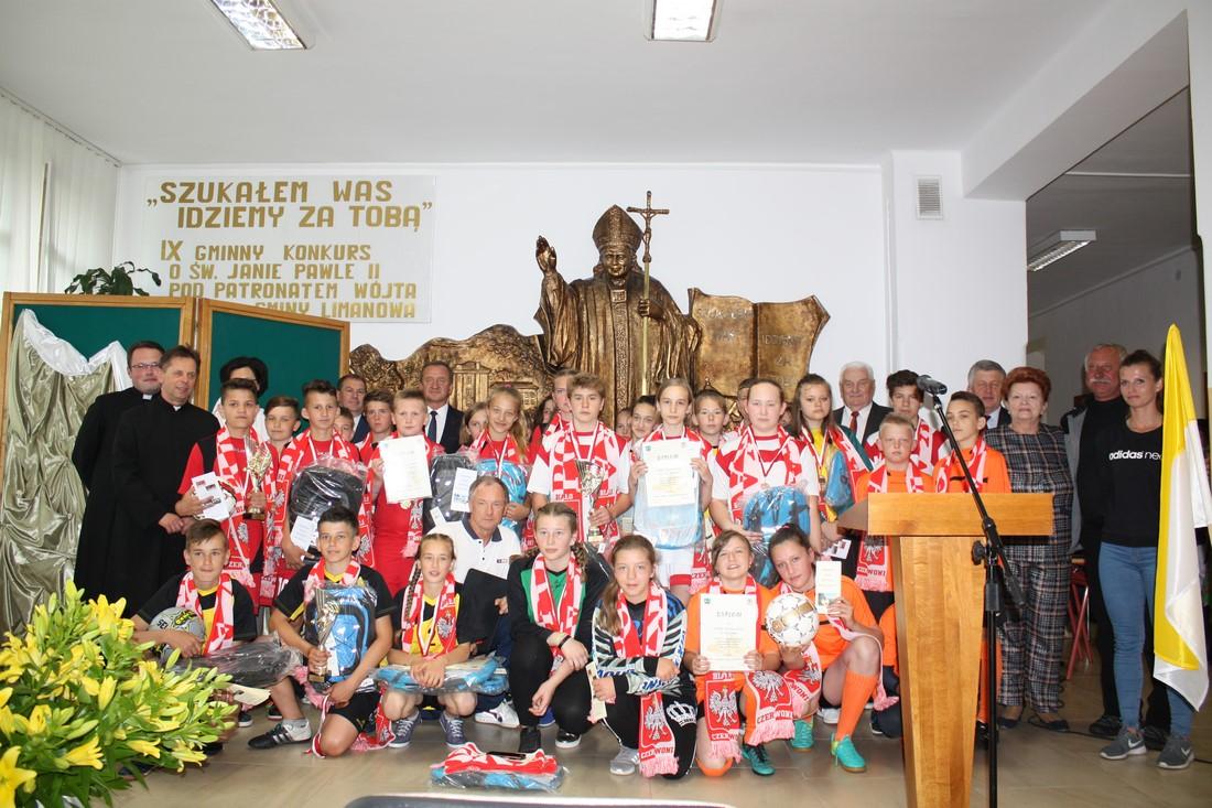 IX Gminny Konkurs o Św. Janie Pawle II - zdjęcie główne
