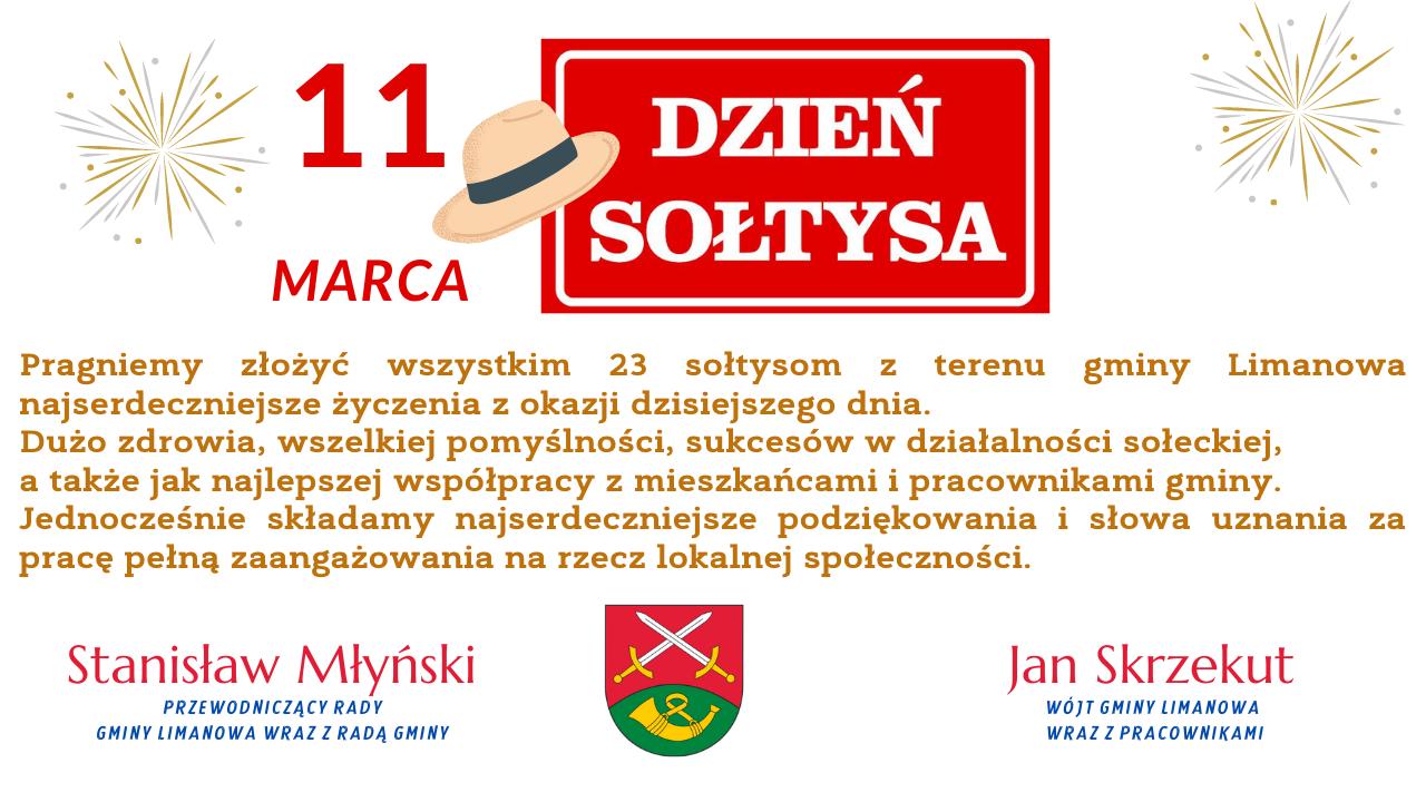 11 marca Dzień Sołtysa  - życzenia - zdjęcie główne