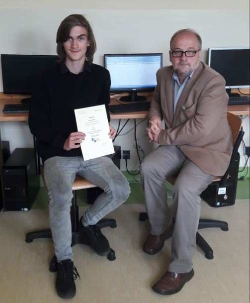 Młody programista z Mordarki  finalistą konkursu z informatyki - zdjęcie główne
