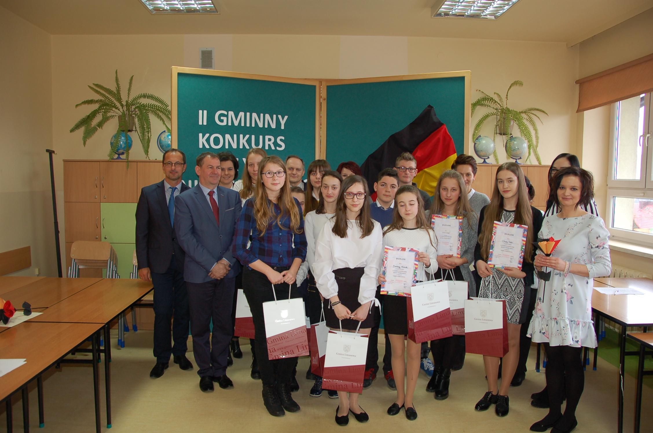 II  Gminny Konkurs Języka Niemieckiego w Mordarce - zdjęcie główne