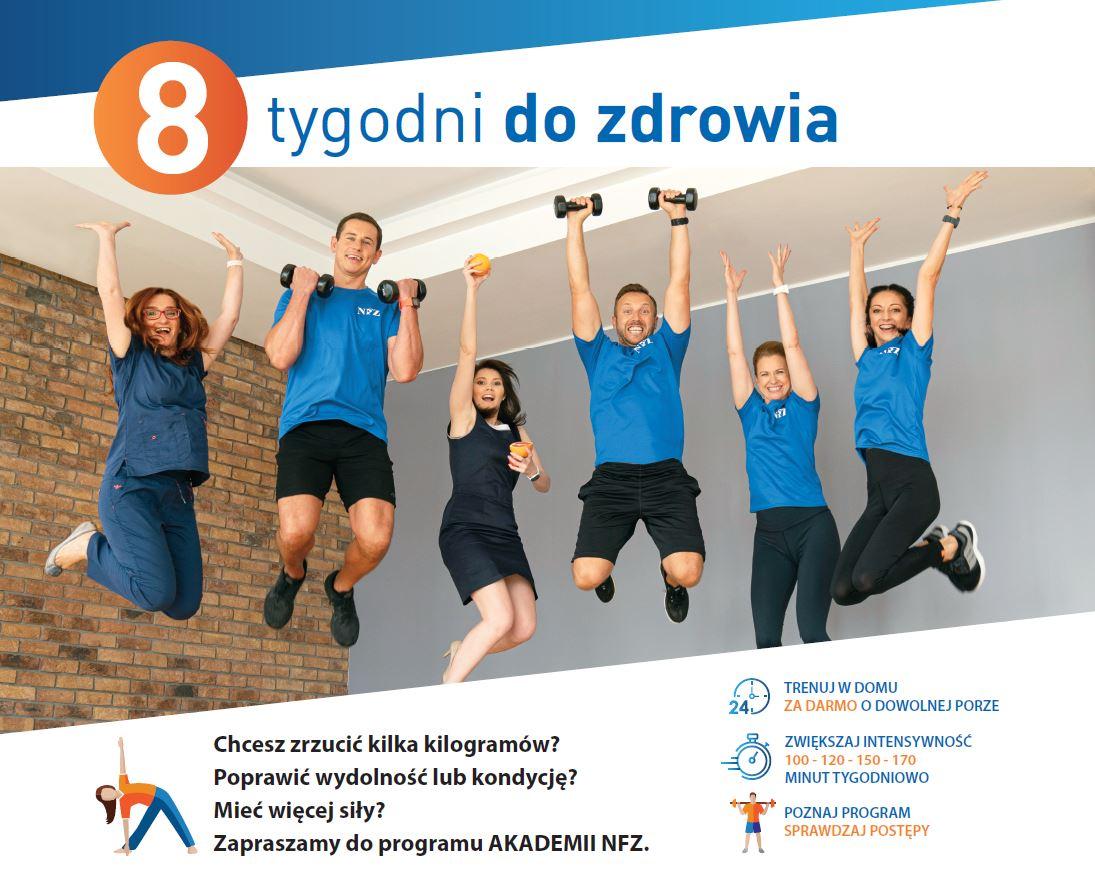 Projekt Narodowego Funduszu Zdrowia - 8 tygodni do zdrowia - zdjęcie główne