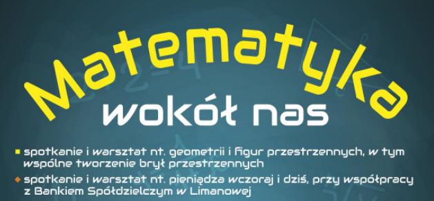 """Dotacja na realizację projektu pn. ,,Matematyka wokół nas"""" dla KGW Lipowe - zdjęcie główne"""