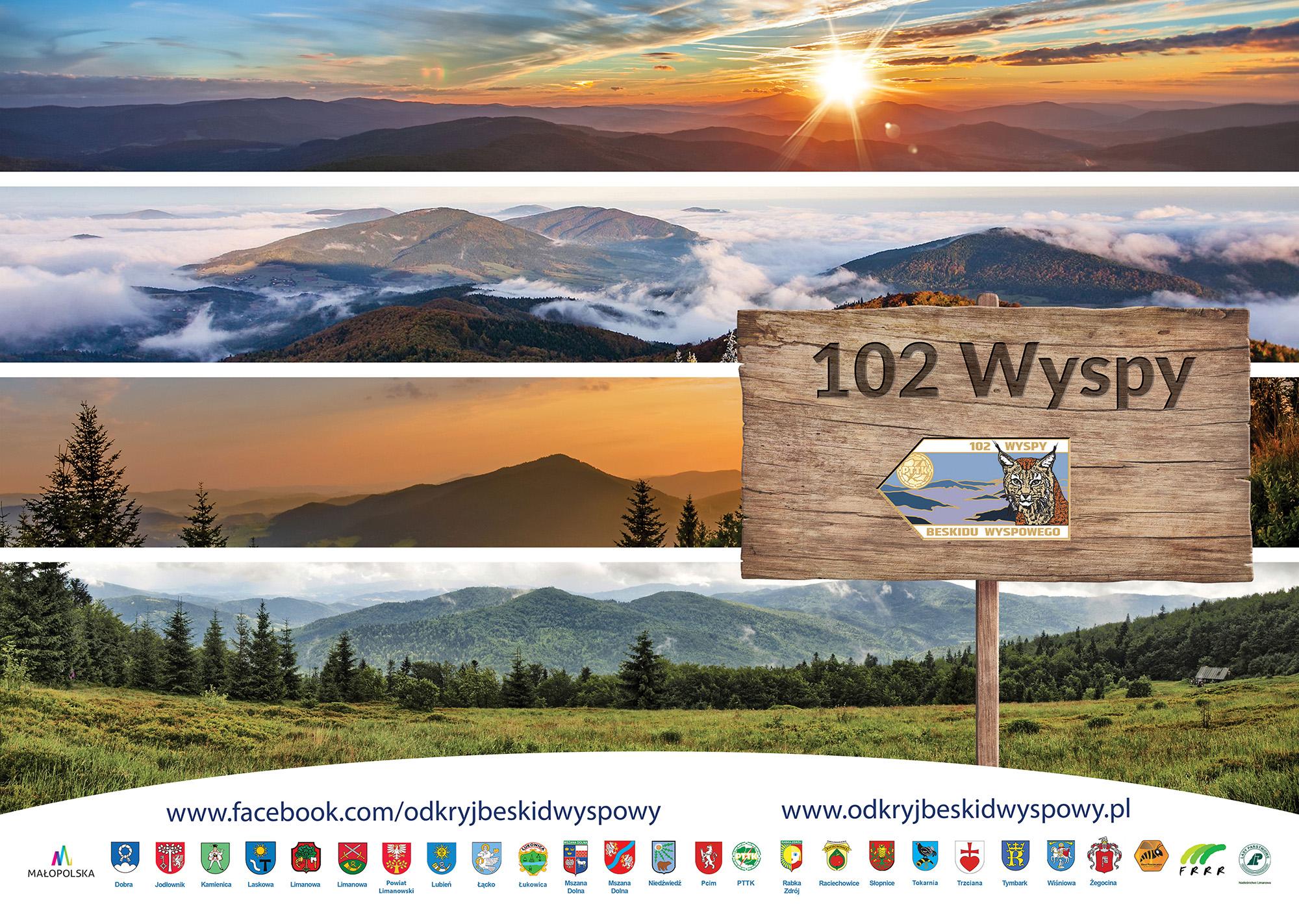"""102 Wyspy Beskidu Wyspowego"""" do zdobycia - zdjęcie główne"""