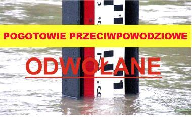 Odwołanie pogotowia przeciwpowodziowego na terenie Gminy Limanowa - zdjęcie główne