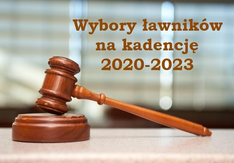 Wybory ławników na kadencję 2020-2023 - zdjęcie główne