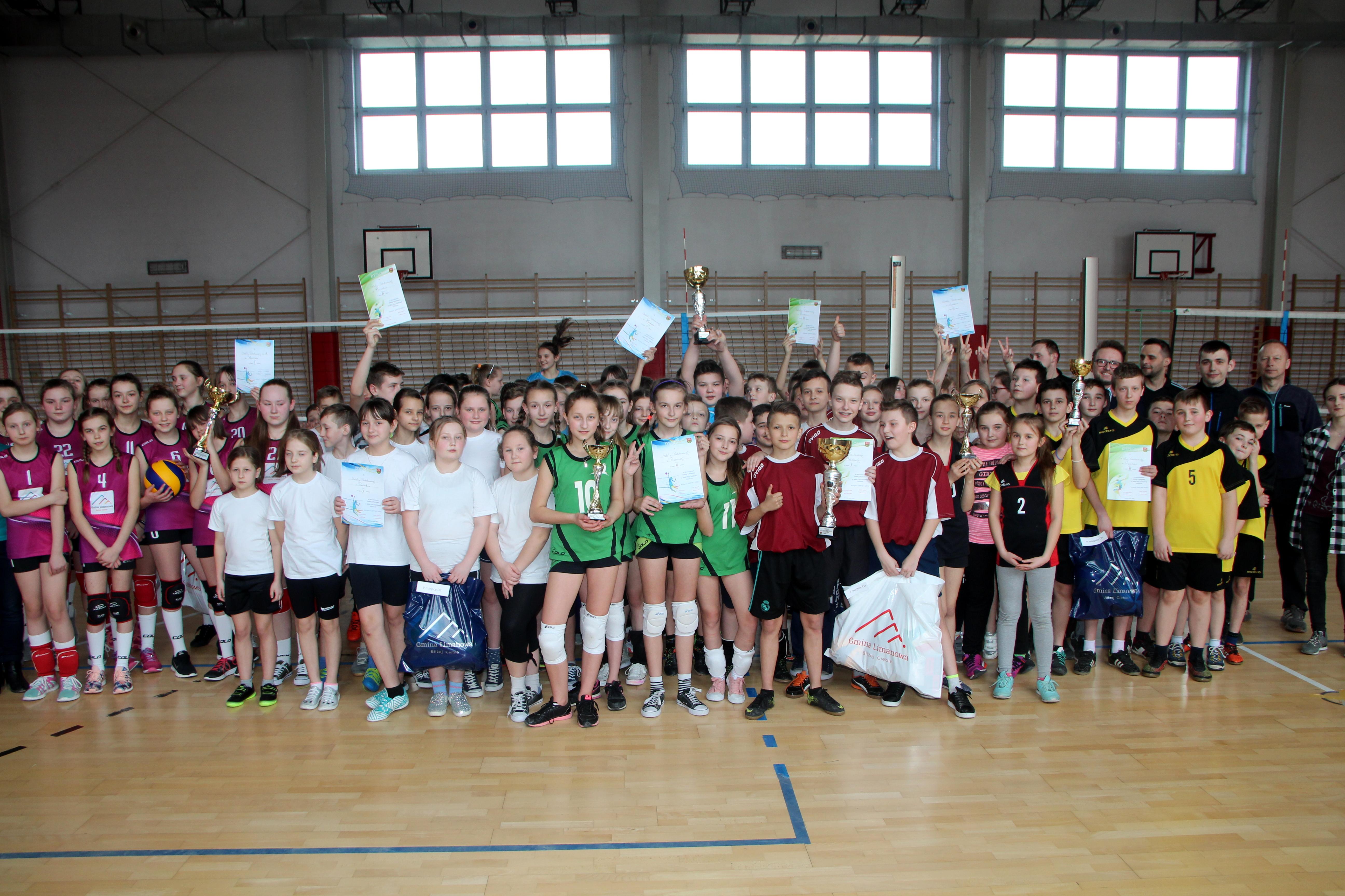 Za nami mistrzostwa gminy Limanowa w mini piłce siatkowej! - zdjęcie główne