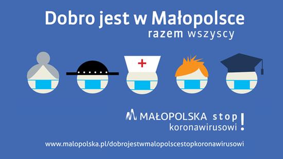 Dobro jest w Małopolsce - Stop Koronawirusowi! - zdjęcie główne