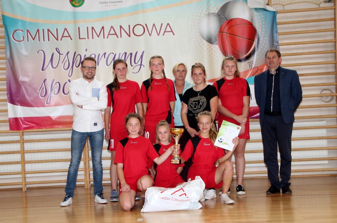 Dziewczęta z Nowego Rybia mistrzyniami halowej piłki nożnej - zdjęcie główne