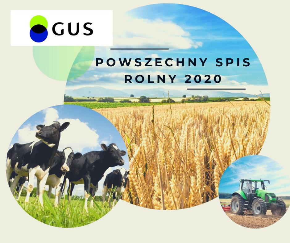 Powszechny Spis Rolny PSR 2020 - zdjęcie główne
