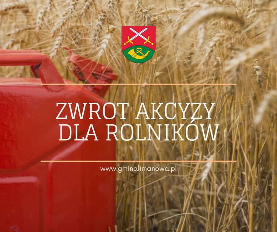 Zwrot akcyzy za paliwo do produkcji rolnej - zdjęcie główne