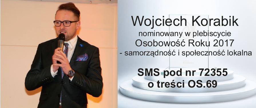 """Wojciech Korabik nominowany w Plebiscycie """"Osobowość Roku 2017"""" - zdjęcie główne"""